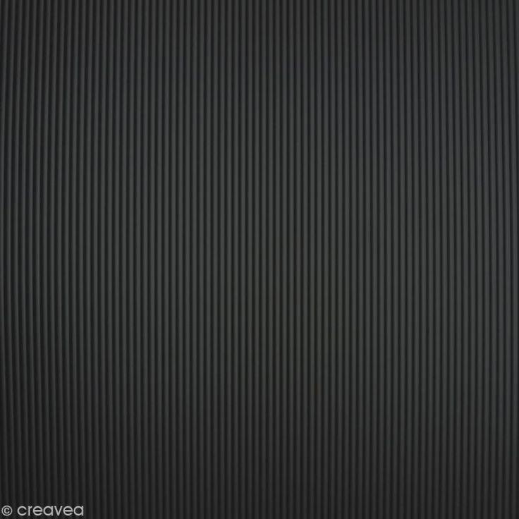 Adhésif Venilia Matières - Rayures noires - 150 x 45 cm