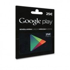 Googleplay lahjakortti / R-kioski Lahjakortin arvo: 25 €