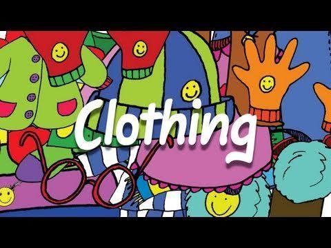 clothes vocab  https://www.youtube.com/watch?v=MqsHPm-qsdE&index=6&list=PL6FB1E1F376BD895D