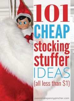 101 Cheap Stocking Stuffer Ideas. Passionate Penny Pincher is the #1 source printable & online coupons! Get your promo codes or coupons & save.
