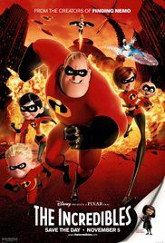The Incredibles (2004) (7/10)  NO CAPES!  Haven't seen this for ages (probably close to when it was released). I have a new appreciation of it as i'm now a big fan of Marvel, slightly DC etc etc. So the whole concept was great.  I love each members powers and how the kid's discover how to use theirs. I love jack jack at the end.  A great family film and can't wait for the sequel!