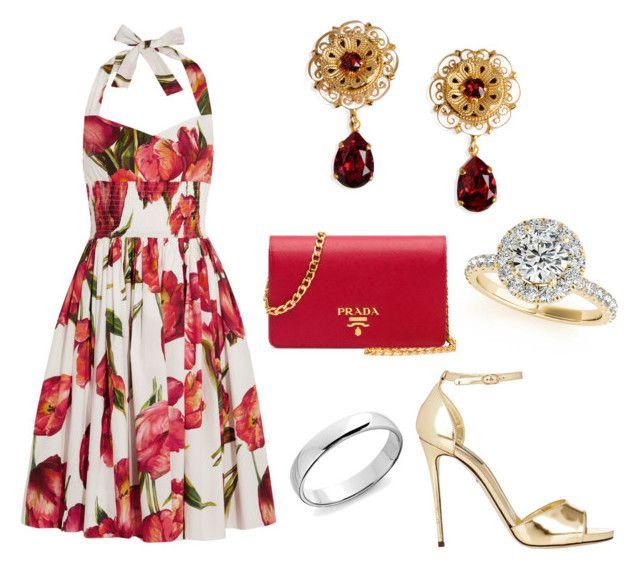 316. by kwiatuszek13 on Polyvore featuring Dolce&Gabbana, Prada and Allurez