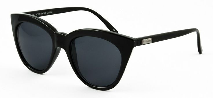 Le Specs LS Halfmoon Magic-black 549 SEK #lespecs http://www.loveyewear.se/solglasogon/le-specs-ls-halfmoon-magic-black-svart/