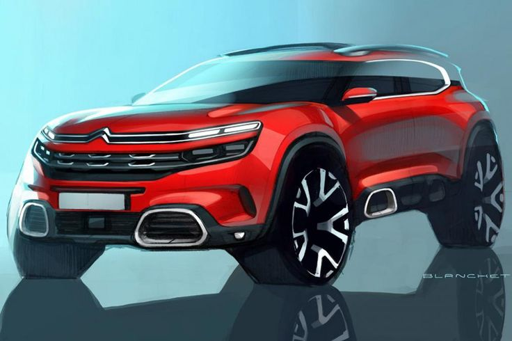Citroen C5 Aircross Debuting In Production-Spec In Shanghai