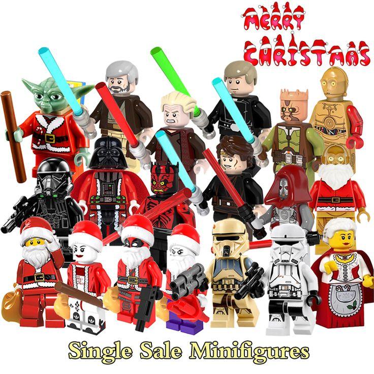 Санта-Клаус Jedi Knight Джокер Имперской Hovertank Пилот Deadpool Строительные Блоки Star Wars Death Trooper Minifigures Детей Игрушки #jewelry, #women, #men, #hats, #watches, #belts