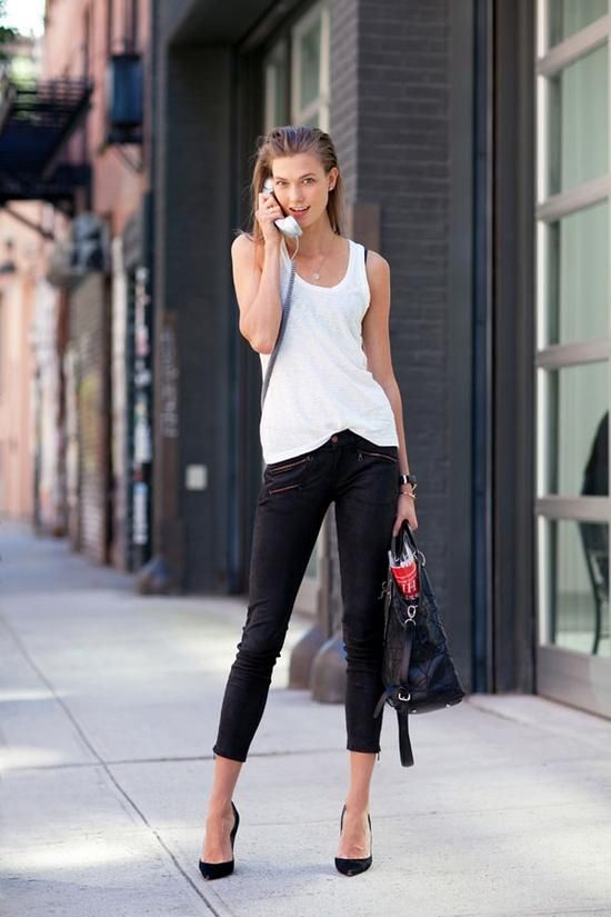 10 best What to Wear with Black Capri Pants images on Pinterest