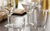 Aqua glassware from Everyday Style.  Beautiful!  I Luv mine!
