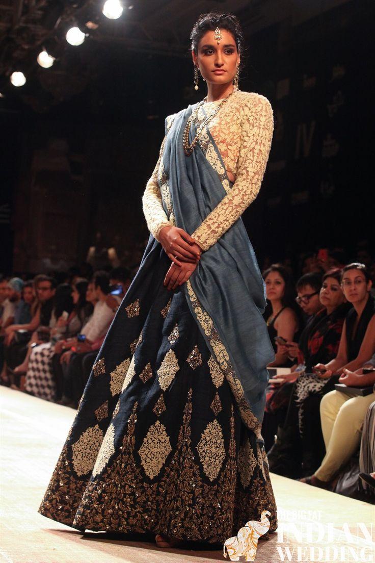 Anju Modi Lakme Fashion Week Winter 2014-1