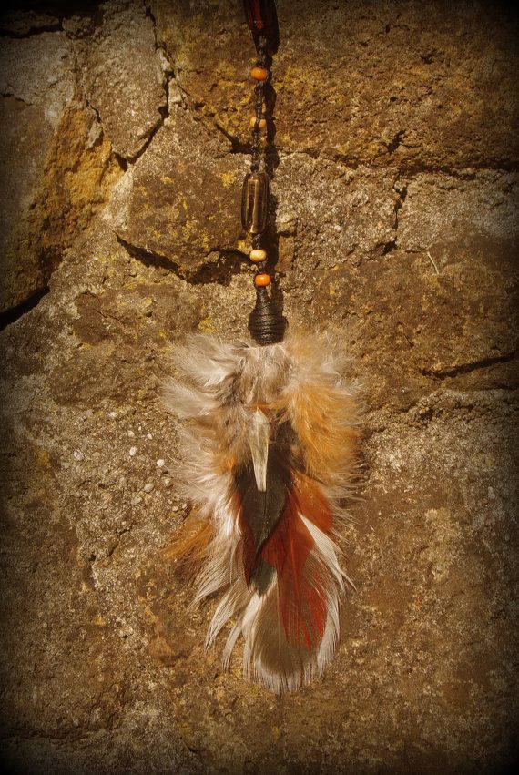 #Tribal #warrior #feather #hairextension #handmade #Crueltyfree with #realfeathers   @Mana528