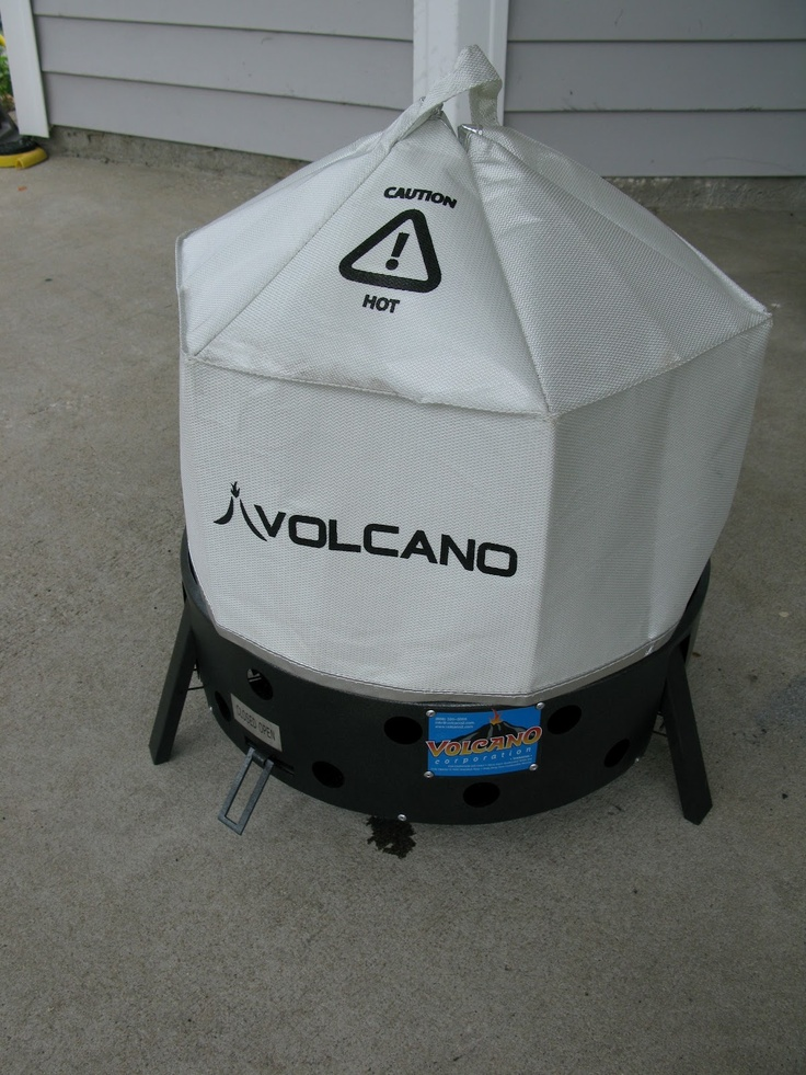 Volcano collapsable grill/stove.  Versatile cooking methods and fuels.  Can use wood, charcoal, or propane with the attachment; can dutch oven, grill, wok, skillet, stick cook or bake with the oven lid.