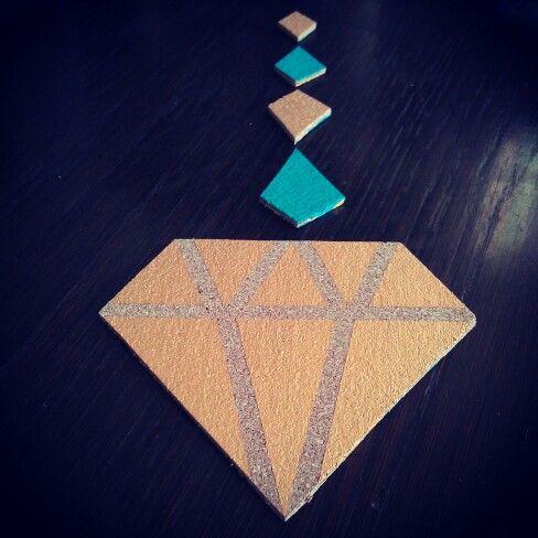 Cork diamond..