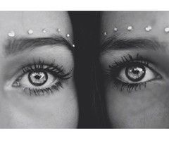 looking for paradise | via Tumblr: Picture, Makeup, Beautiful, Festival, Beauty, Hair, Photography, Black, Eyes