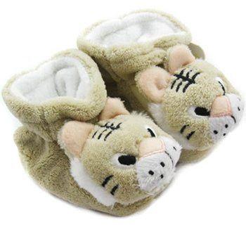 Sepatu Bayi Online - KF Bayi Hewan Booties Sole Lembut, untuk 3-12 Bulan - Tiger | Pusat Sepatu Bayi Terbesar dan Terlengkap Se indonesia
