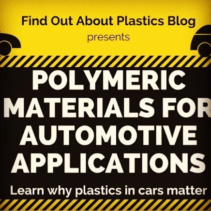 """New infographic on my Find Out About Plastics Blog! """"Polymeric Materials for Automotive Applications - Why Plastics in Cars matter""""  In the past 40 years plastic materials incrementally found their way into automobiles. The applications using polymeric materials and composites indicate further growth in the future as well. Find out about the utilization of plastics for automotive applications in this infographic > link in my bio @herwigjuster  #automotive #plastics #infographic…"""
