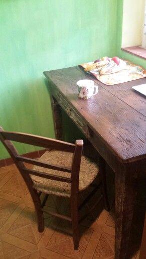 Il tavolo shabby
