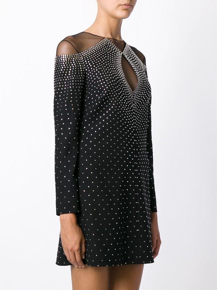 Saint Laurent Mini-robe Cloutée - Eraldo - Farfetch.com