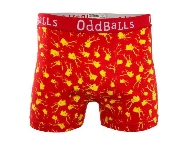 hratsky.com - męska bielizna - BOKSERKI ODDBALLS STAGS. Odśwież swoją garderobę. OddBalls zmieni ją na ciekawszą.  http://bit.ly/1jzcWuc  #bokserki #prezent #mikołajki #rabat #bielizna
