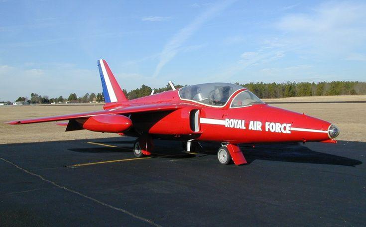 Folland Gnat T1 - RAF