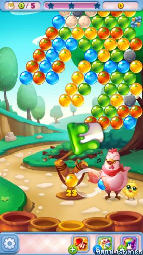 Bubble CoCo v1.4.9 [Mod]Requirements: 2.3 and upOverview: Pop your way to save CoCo's chicks in this bubble shooting adventure!  CoCo wakes up one night to find her chicks nowhere to be found! But the culprit can be...