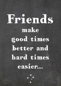 Vriendschapskaart Good times - Vriendschap kaarten