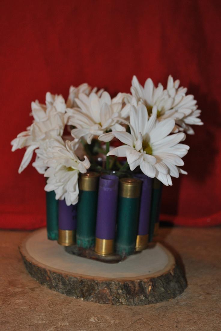 Shotgun Shell Vase Shot Gun Stuff Pinterest Vase Shells And Babies Breath