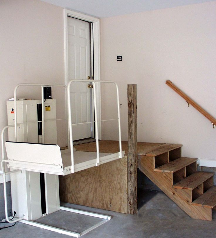 wheelchair ramp in garage   Low Cost Solutions For Making Your Home Accessible