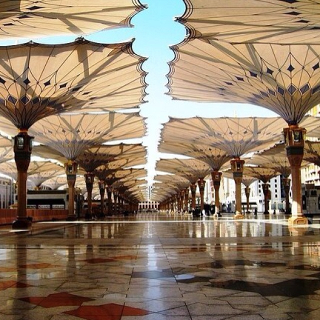 Someday, I want to do my prayers in here. Al Madina Al Monawara