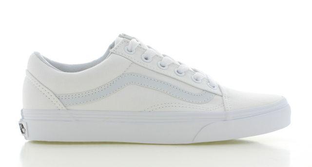 Vans Old Skool Wit Dames | Gympen vrouwen, Sneaker, Kleding ...