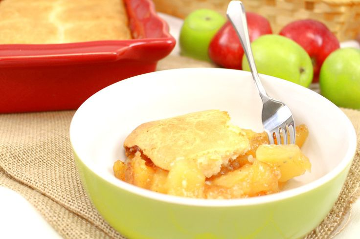 Serve up dessert in a pinch with this Bisquick Apple Cobbler recipe. This easy dessert would be perfect for a quick holiday treat because it's so simple to throw together at a moment's notice. You may even have the ingredients on hand already!