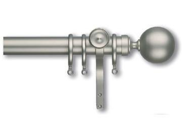 Celtic II Metal Pole, 30mm diameter : Curtain Poles And Tracks : Natural Curtain Company