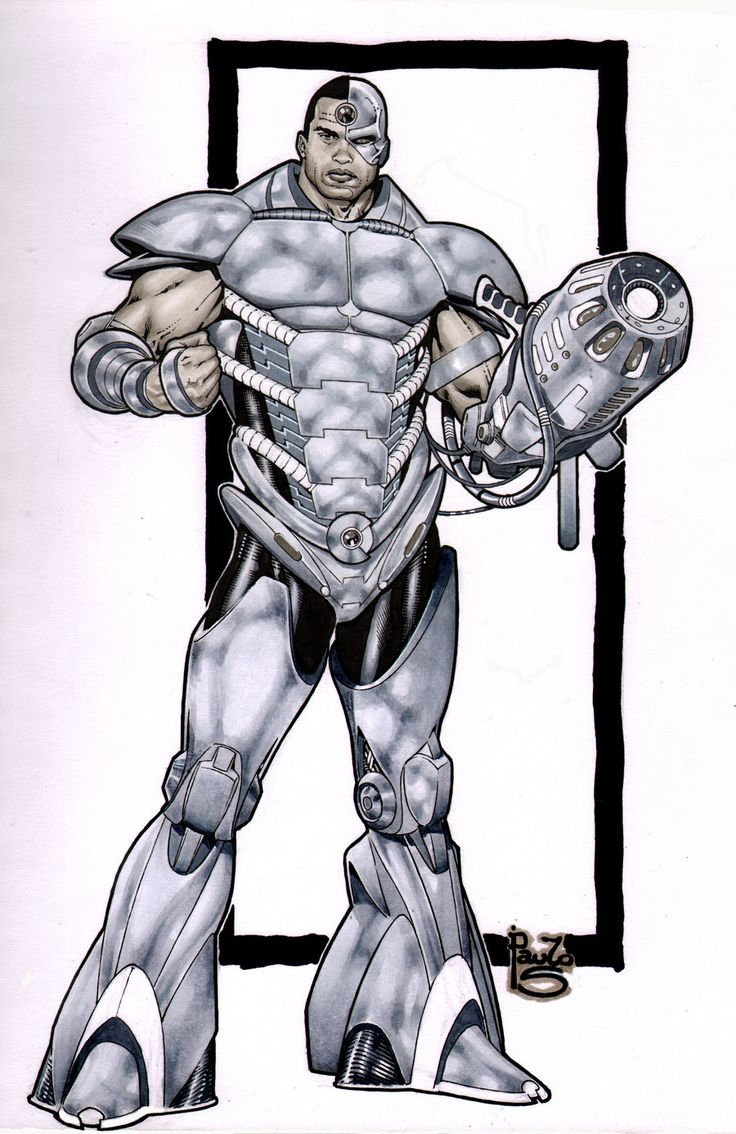 Cyborg- my reboot by PauloSiqueira.deviantart.com on ...