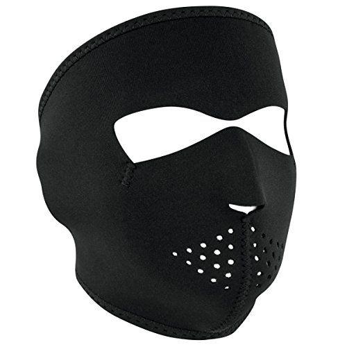 From 9.12:Zanheadgear Black Neoprene Face Mask