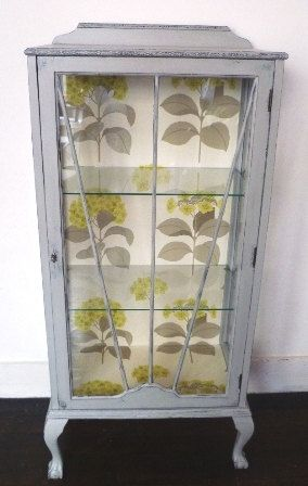 upcycled 1930s display cabinet