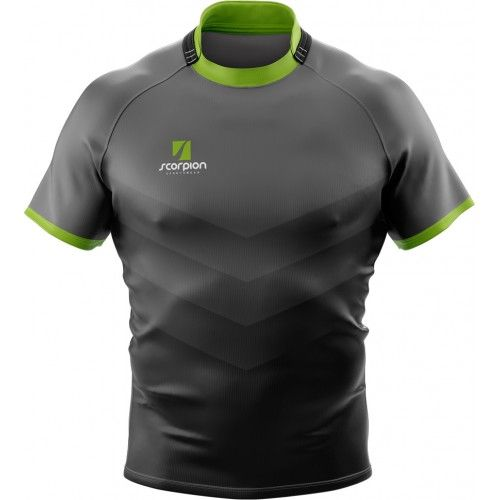 UK Manufactured Rugby Kit Designer Scorpion Sports supply bespoke rugby kits in any design or colour within 2 weeks.