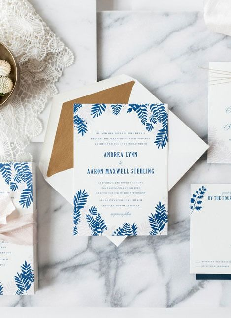 From clean and simple to boho inspired, we have invites for every wedding style