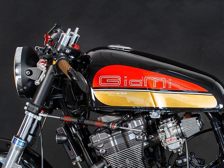 Suzuki Inazuma 400 Cafè Racer -Built By GiaMi Motorcycles