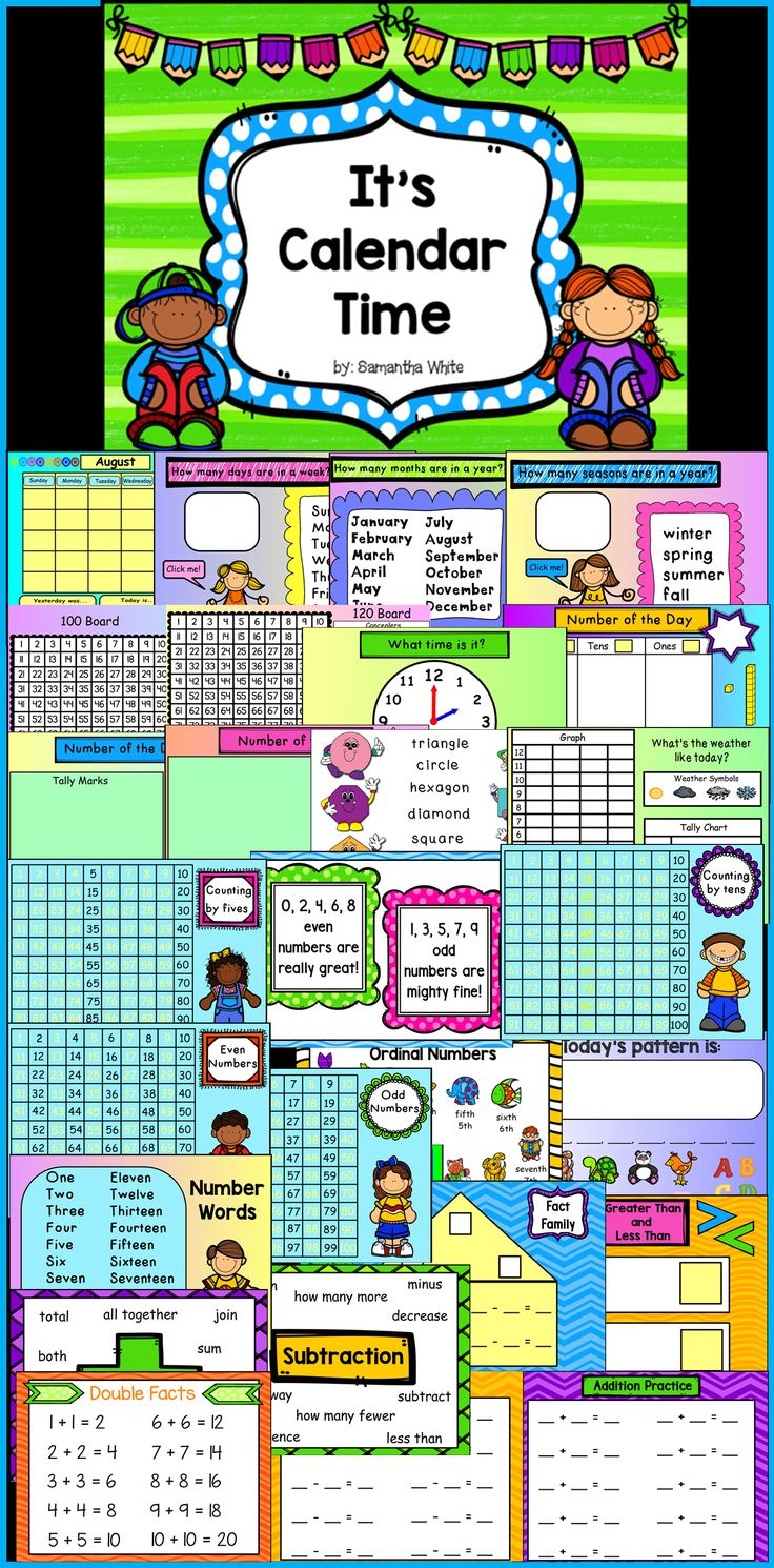 If you're looking for a fun and engaging way to teach calendar board each day, this interactive flipchart is full of activities to be used with the Promethean Board using ActivInspire software.  It covers many math skills, very kid friendly, colorful, and includes cute graphics.  Not only is this flipchart very engaging, it saves a lot of wall space that the traditional calendar board uses.   Page notes are included if applicable.