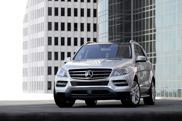 Mercedes Benz latest ML 4 x 4 #Luxury Cars