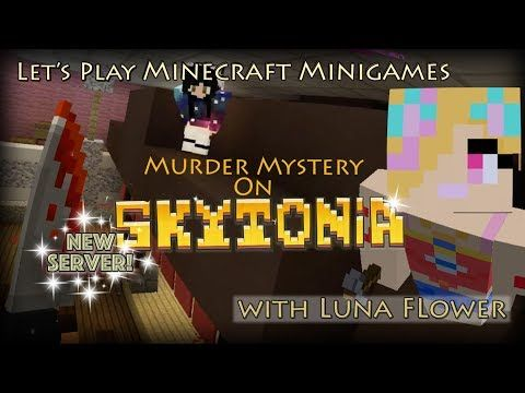 Let's Play Minecraft Minigames   Murder on Skytonia