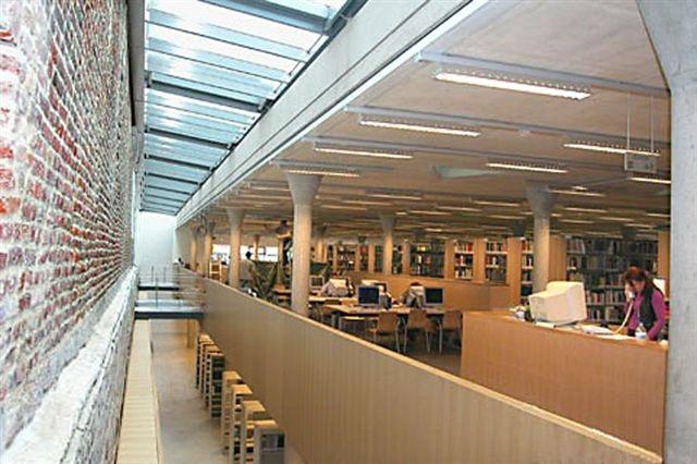 Biblioteca do Campus de Arenberg - Leuven, Bélgica