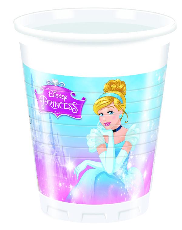 Disney Prinsesser kopper med flot Disney Prinsesse tema.