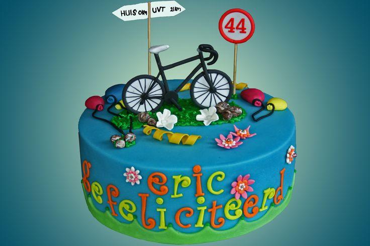 fiets taart