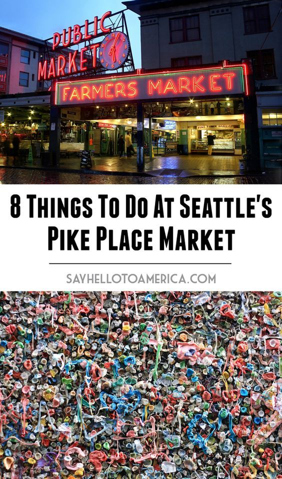 Best things to do at Pike Place Market in Seattle, Washington. Click for more info or pin for later!