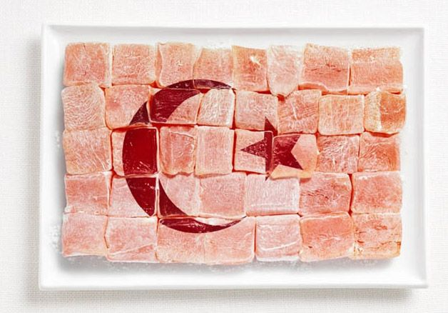 Turkish Flag in Delights