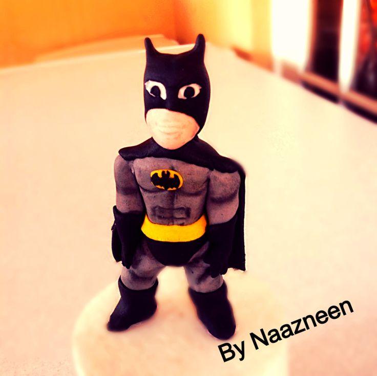 Batman cake topper by Naazneen