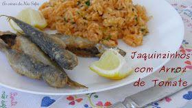 Hoje trago-vos uma receita portuguesa bem tradicional. Agora que os jaquinzinhos já são legais, fui à praça de Benfica à procura deles. É v...
