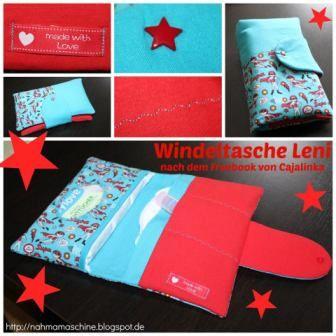 "C a j a l i n k a: Freebook Windeltasche ""LENI"" ab heute online!"