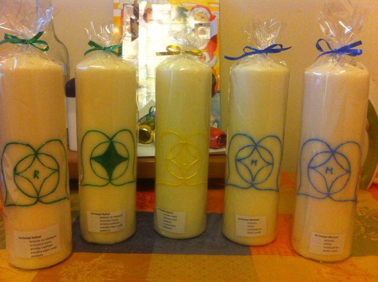 Čistiace anjelske sviečky