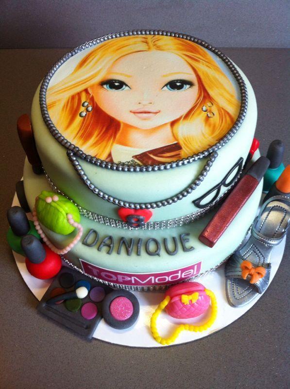 Fondant Cake Th Birthday