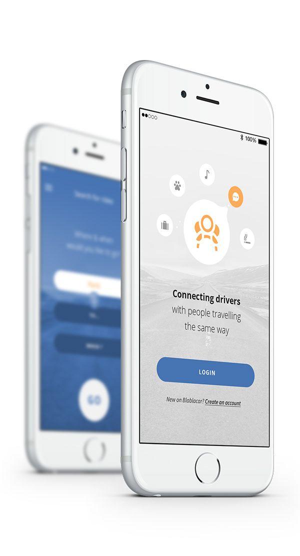 Blablacar, App Concept on Behance